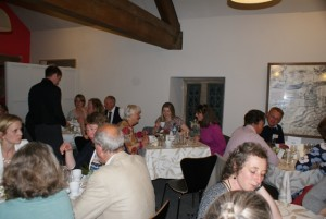 Celebrations at Haddon Hall after our EQM award