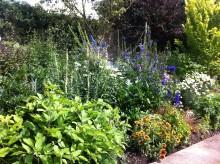 Beautiful gardens at Baslow Hall