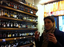 Jo introducing us to special wines