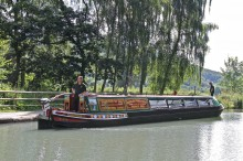 The Cromford Canal Restored Narrowboat