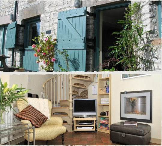 Douglas Barn self catering cottage in the Peak District Derbyshire