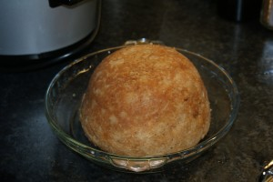 Steak & Kidney Pudding cooked to perfection in a slow cooker