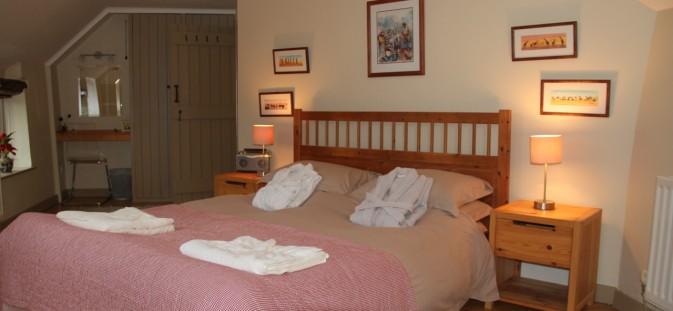 The Bedroom in Douglas's Barn